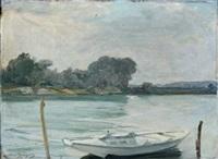 barque sur la seine by adrien gabriel voisard-margerie