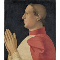 portrait of cardinal philippe de lévis by romano antoniazzo