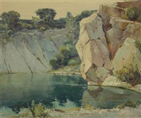 quarry in rockport by anthony thieme