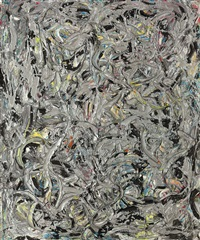 eyes in the heat ii by jackson pollock