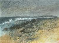 stormy landscape by len tabner