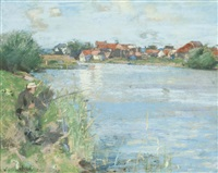 a river bank by james guthrie