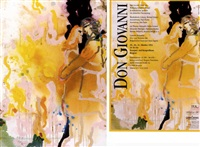 liebespaar - don giovanni 1988 (+ bk and poster) by adi holzer
