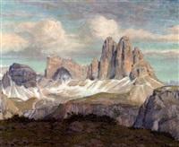 alps by karl pferschy