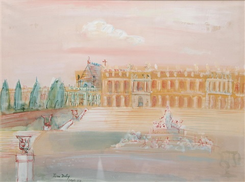 versailles by jean dufy