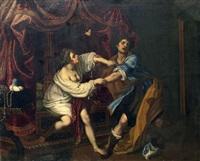 joseph et la femme de putiphar by giovanni bilivert