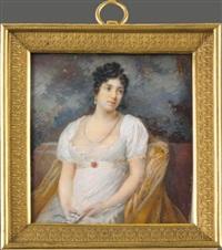 portrait de femme by étienne charles leguay