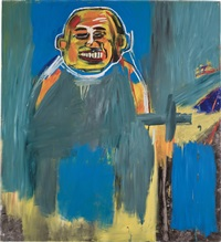 bird as buddha by jean-michel basquiat