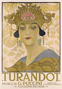 turandot by leopoldo metlicovitz