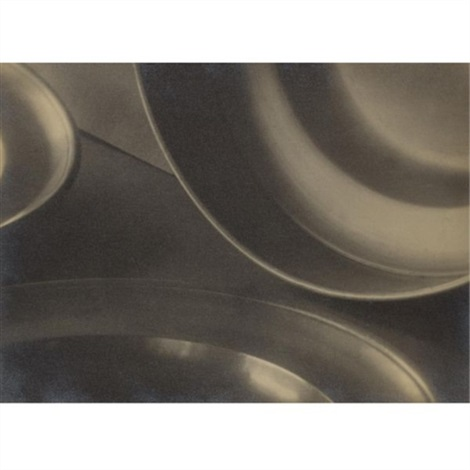 composition (abstraction with plates) by jaromir funke