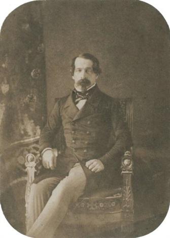 louis napoléon bonaparte en prince président by gustave le gray