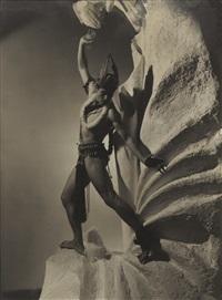 serge lifar, jurupary (3 works) by george hoyningen-huene