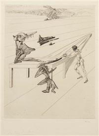 l'enfant sauterelle (the grasshopper's child) by salvador dalí