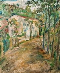 dorfstraße by nicolas gloutchenko