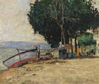 lungo il lago ad abbadia by vincenzo colucci