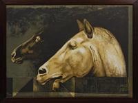 equs, de la carpeta el caballo en papel by arturo rivera