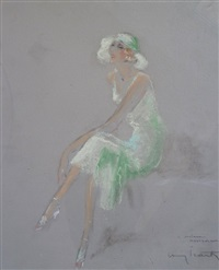 élégante assise by louis icart