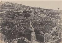 jérusalem, vallée de josaphat by auguste salzmann