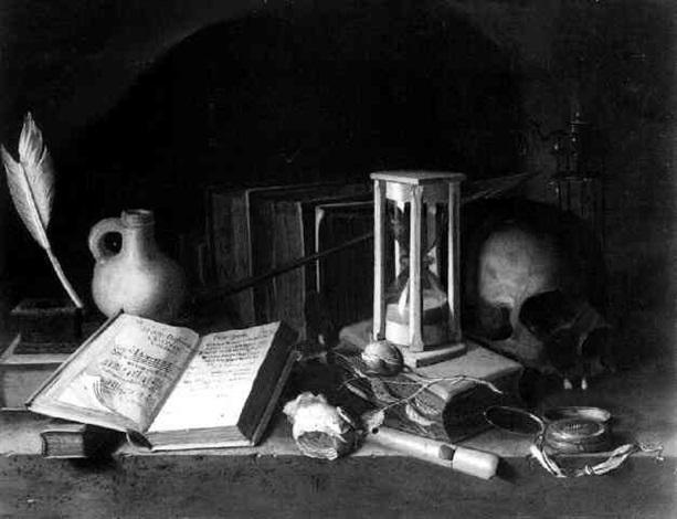 a vanitas still life by pieter van steenwyck