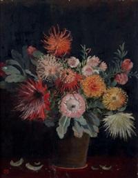 bouquet de fleurs du jardin national botanique de kirstenbosch, cape town by nita spilhaus