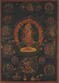 thangka of red simhamukha by anonymous-tibetan (19)
