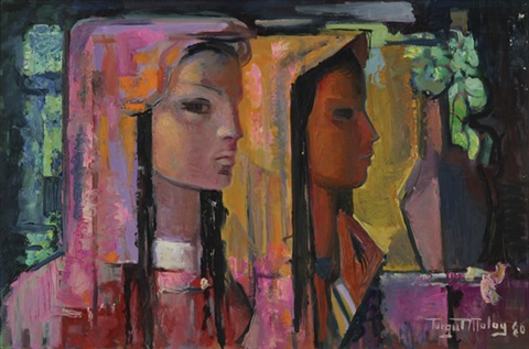 two girls by turgut atalay