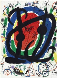 cartones : one plate by joan miró