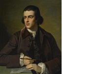 a portrait of john grey by benjamin west