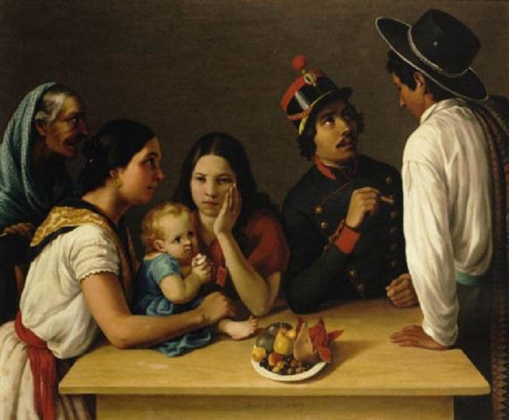 la familia mexicana la pensativa by josé agustín arrieta