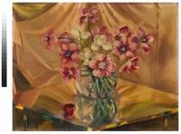 penombre riflessi tulipani by giacomo balla