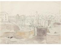 ipswich docks by john northcote nash