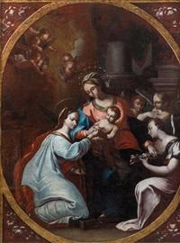 die mystische vermählung der hl. katharina von alexandrien by austrian school (17)