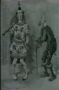 a) the maneuvers;                      b) j. bull, dealer (2) by edward linley sambourne