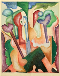 composition by natalia sergeevna goncharova