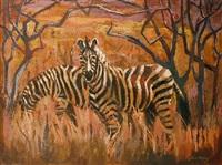 zebras by sylvia clark molloy