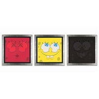 bob for the aldrich × 3 (3 works) by kaws