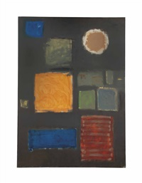 big grey - with disc: june - september by patrick heron