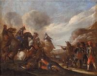 coppia di battaglie (pair) by jacques courtois