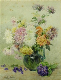 bouquet de fleurs by marthe courtier