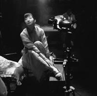 gong li, sur un tournage du realisateur cheng kaige, à suzhou by patrick zachmann