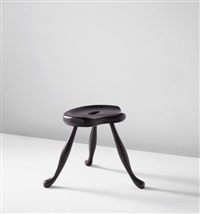 saddle stool by josef frank