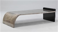 couch table by aldo tura
