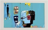 blue heads by jean-michel basquiat