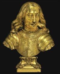 bust of a governor-general of the spanish netherlands, probably archduke leopold wilhelm of austria by dutch school-southern (17)