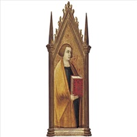 st. john the evangelist by pietro lorenzetti