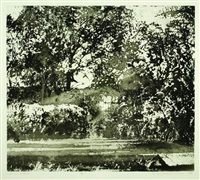 midsummer morning, charleston by norman ackroyd
