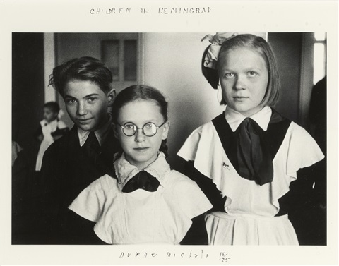 children in leningrad by duane michals