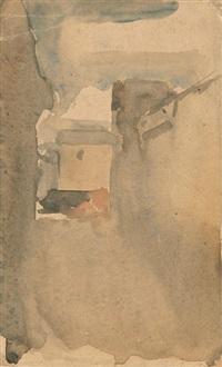 cortile di via fondazza by giorgio morandi