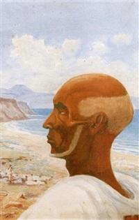 portrait du cheik issa by henry de monfreid