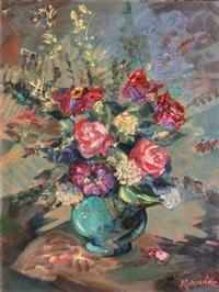 vase de fleurs by alexis guy korovin